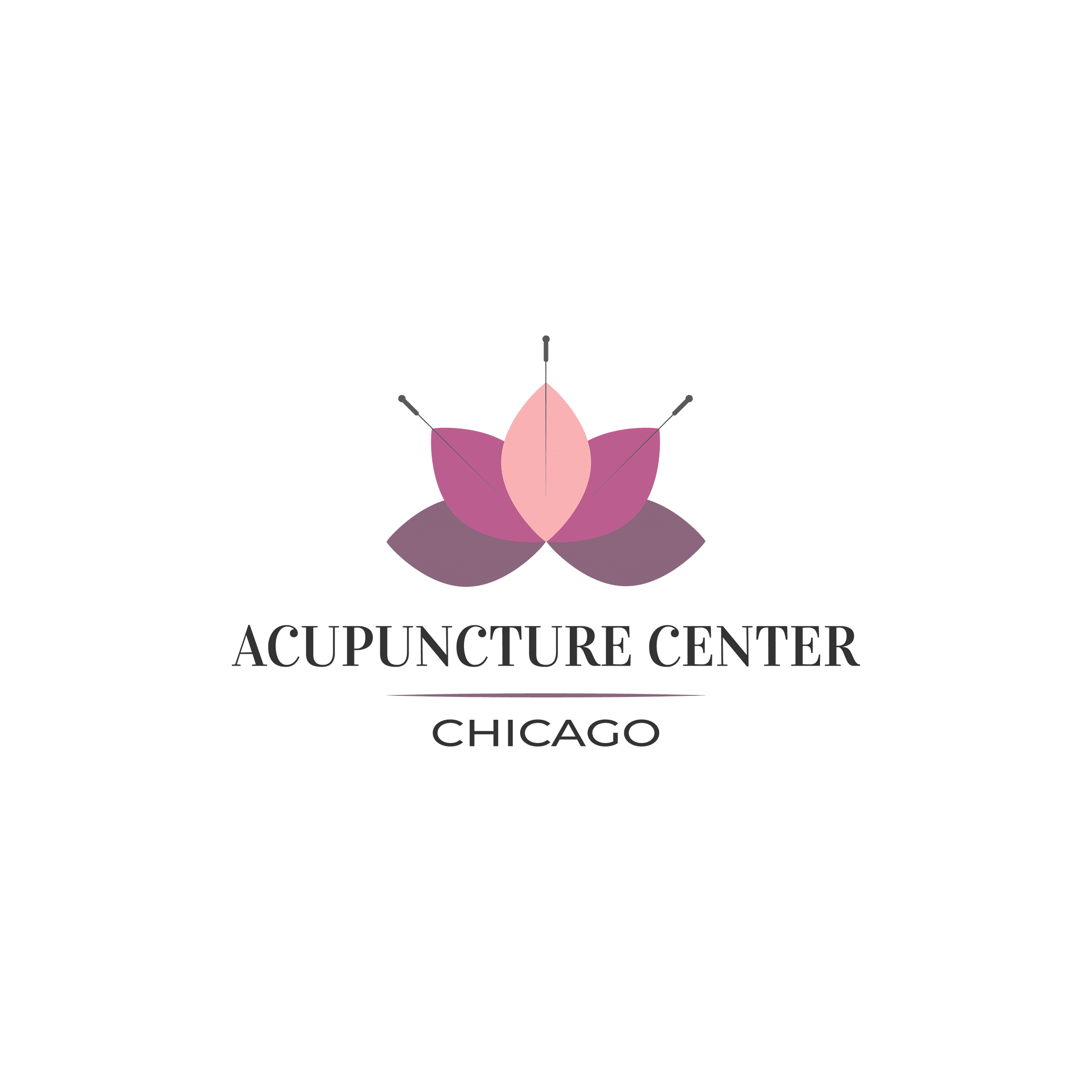 Acupuncture Center Chicago Square Logo